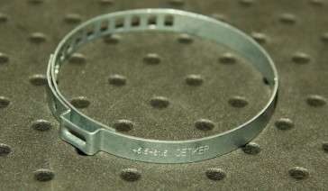 Opaska zaciskowa regulowana do przegubów, ocynkowana 45,5-61,5 szer.7mm
