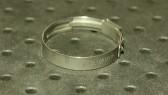 Opaska zaciskowa z zamkiem mechanicznym 32,9-36,1mm szer.7mm