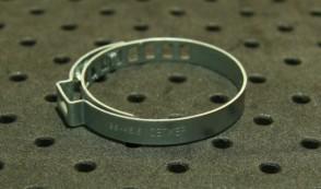 Opaska zaciskowa regulowana do przegubów, ocynkowana 36-45,5 szer.7mm
