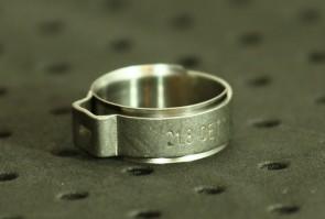 Opaska zaciskowa z wewnętrznym pierścieniem (wkładką) 18,8-21,1mm szer.9,2mm