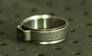 Opaska zaciskowa z wewnętrznym pierścieniem (wkładką) 23,3-26,3mm szer.9,2mm