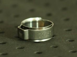 Opaska zaciskowa z wewnętrznym pierścieniem (wkładką) 17,1-19,3mm szer.9,2mm