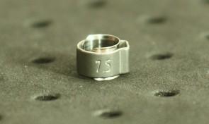 Opaska zaciskowa z wewnętrznym pierścieniem (wkładką) 5,9-7mm szer.6,4mm