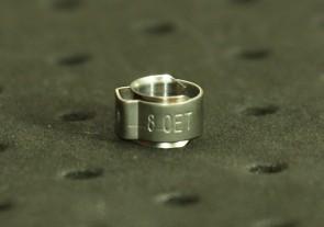 Opaska zaciskowa z wewnętrznym pierścieniem (wkładką) 6,3-7,5mm szer.6,4mm