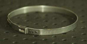 Opaska zaciskowa z zamkiem mechanicznym 78,3-81,5mm szer.7mm