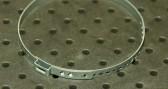 Opaska zaciskowa regulowana do przegubów, ocynkowana 61,5-85,5 szer.7mm