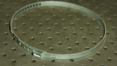 Opaska zaciskowa regulowana do przegubów, ocynkowana 85,5-122mm szer.7mm