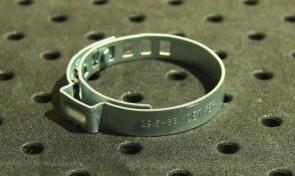 Opaska zaciskowa regulowana do przegubów, ocynkowana 29,5-36 szer.7mm