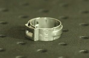 Opaska zaciskowa z zamkiem mechanicznym 13,5-16mm szer.7mm