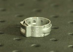 Opaska zaciskowa z zamkiem mechanicznym 12-14,5mm szer.7mm